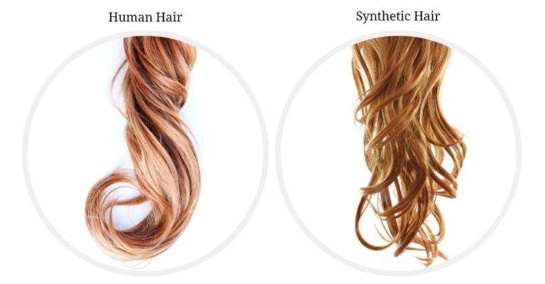 How Synthetic Hair Wigs are Different from Human Hair Wigs