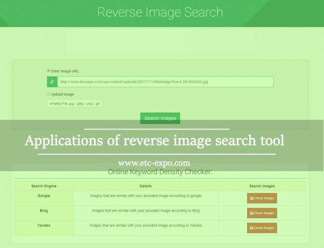 Applications of Reverse Image Search Tool In Digital Marketing World