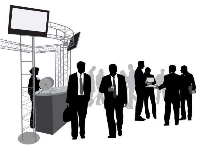 7 Types of Lighting for Trade Show Displays