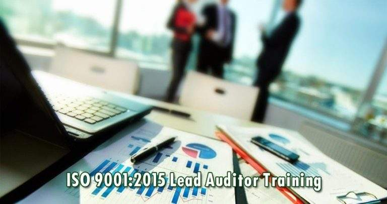 Your Key To Success: ISO 9001 LEAD AUDITOR TRAINING