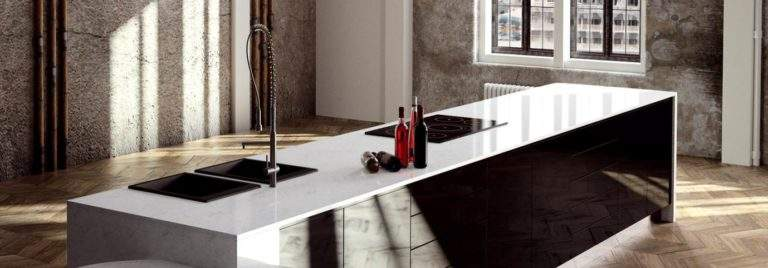6 Amazing Worktop Materials for 2018 That Look like Marble But Don't Stain