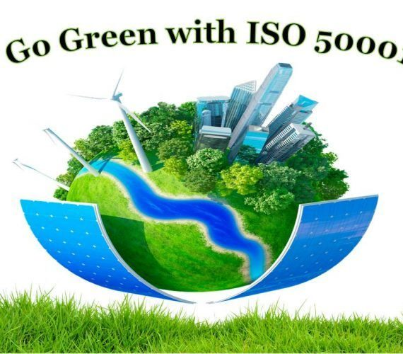 What are the benefits of getting an ISO 50001 certification?