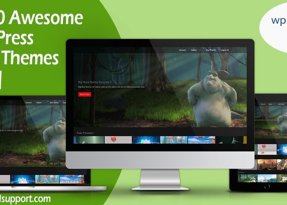 Top 5 Awesome WordPress Video Themes – [2019] – done