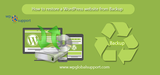 How to restore your WordPress WebSite from Backup?