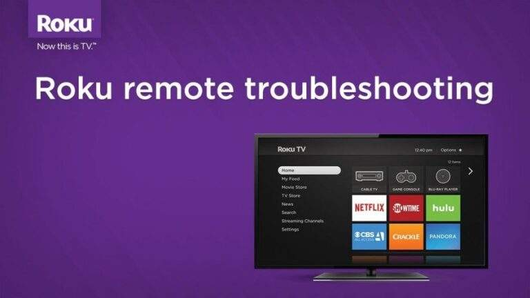 How do I resolve issues with my Roku  Remote