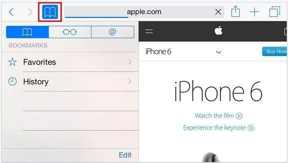 Know The Use Of Bookmarks on iPad and iPhone