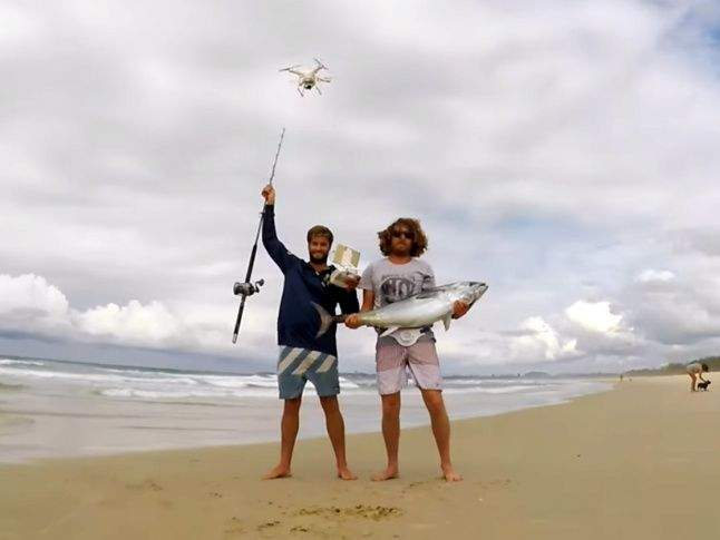 Fishing with a drone-Fact or fiction?