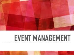 Event managing in 21st century