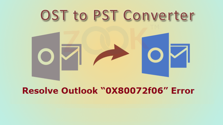 """How to Resolve Outlook """"0X80072f06"""" Error?"""