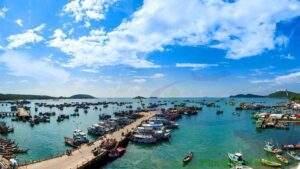 beautiful fishing village
