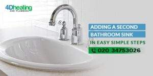 Adding a Second Bathroom Sink in Easy Simple Steps