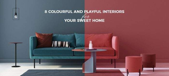 Colorful And Playful Interiors for home