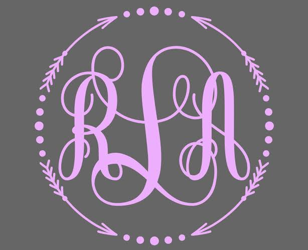 Creative Ideas for Using Monogram Stickers