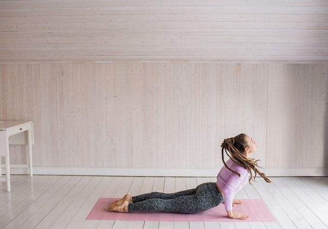 Salabhasana (The Locust Pose)