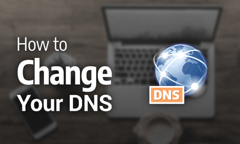 How to change the default DNS address?
