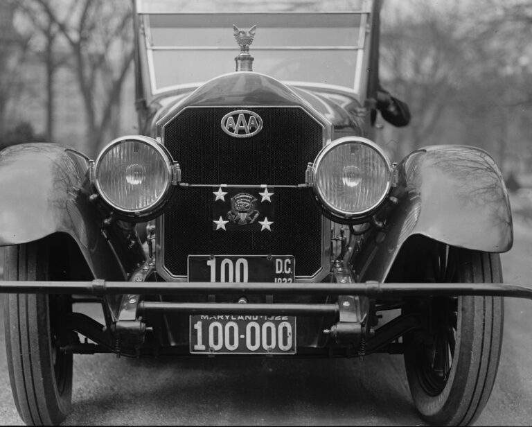 History of a Car by license plate