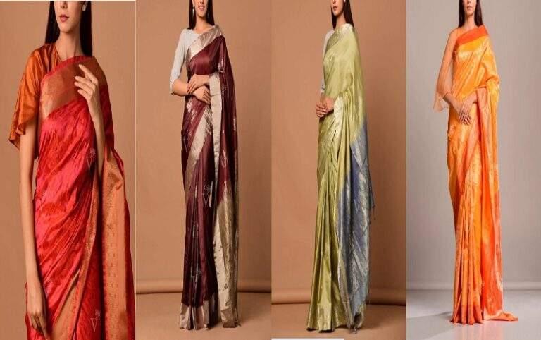 Top 6 Designer Silk Handloom Sarees Online By Vasansi Jaipur