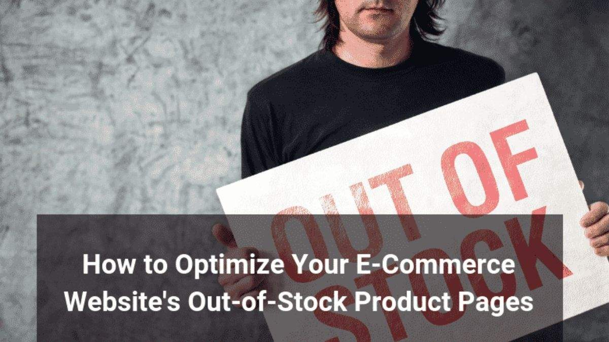Manage Out-of-Stock Products on Ecommerce Platforms