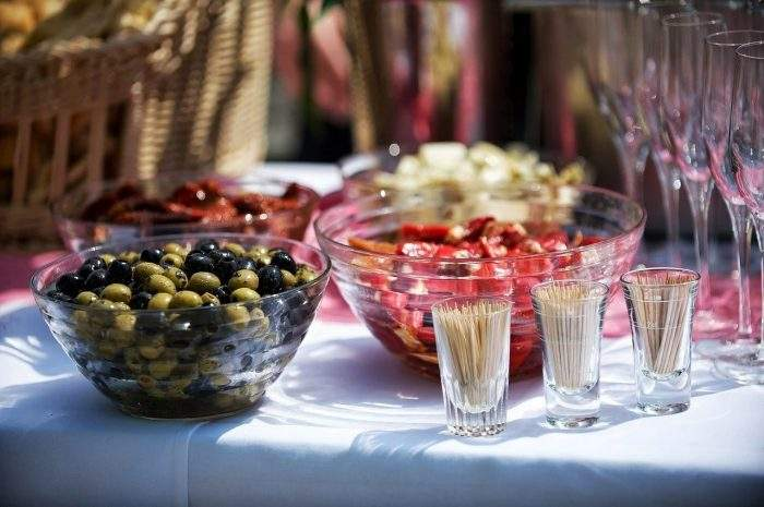 Pre-wedding rituals food and beverages