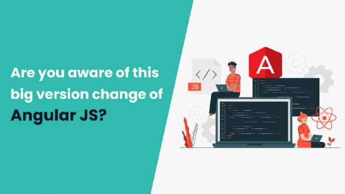 Version Change by Angular JS