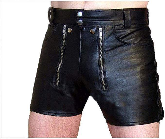 Tips to Wear Leather Shorts for Men