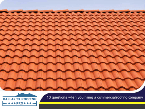 13 Questions When You Hiring a Commercial Roofing Company