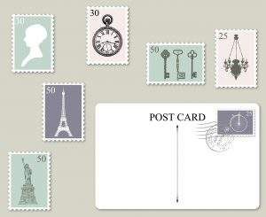 Laminated Postcards
