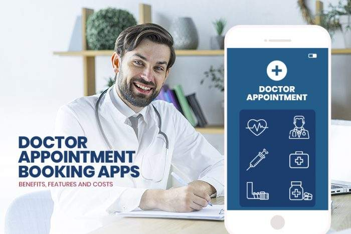 Doctor Appointment App Features