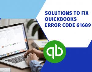 QuickBooks Error Code 61689