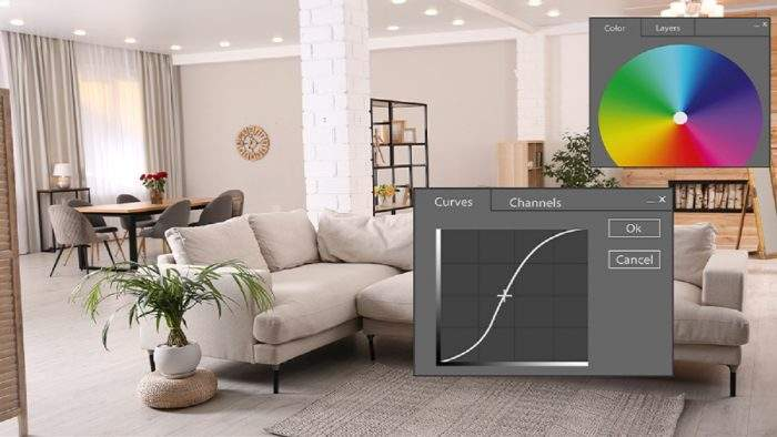 Photo retouching tips for furniture business