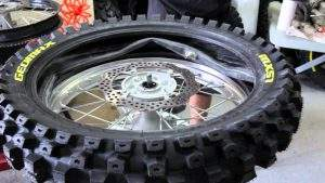 Change a Motorcycle Tyre